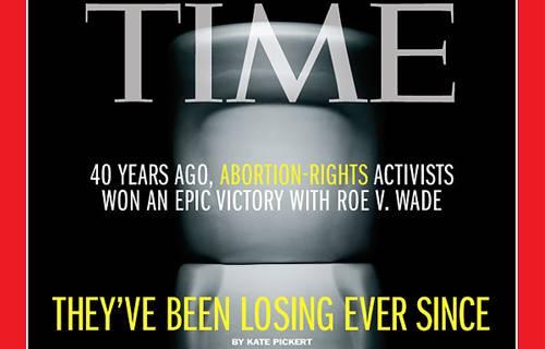 Capa deste mês da Revista Times