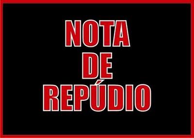 aNota de repudio